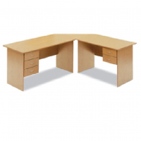 OFFICE DESK L SHAPE 16MM