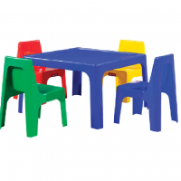 JOLLY TABLE AND CHAIRS